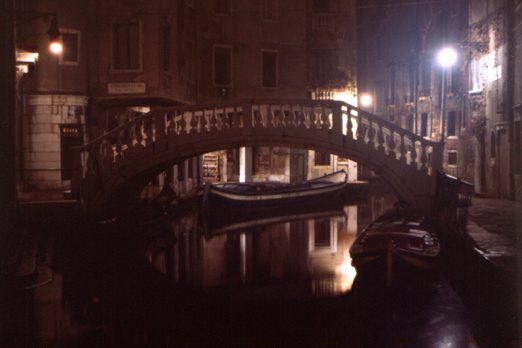 Fenice Bridge at Night